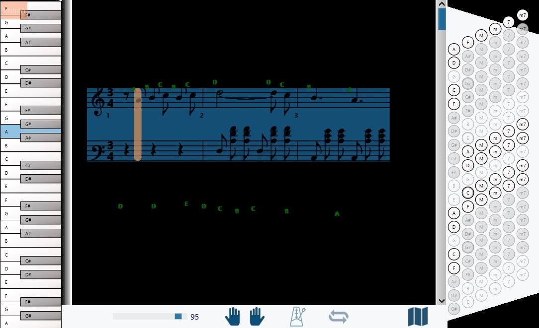 Вальс, танго, фокстрот для аккордеона или баяна djvu